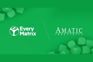 EveryMatrix and Amatic partner up