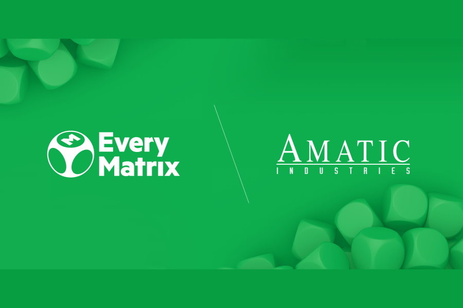 EveryMatrix will distribute Amatic's content through its CasinoEngine network.