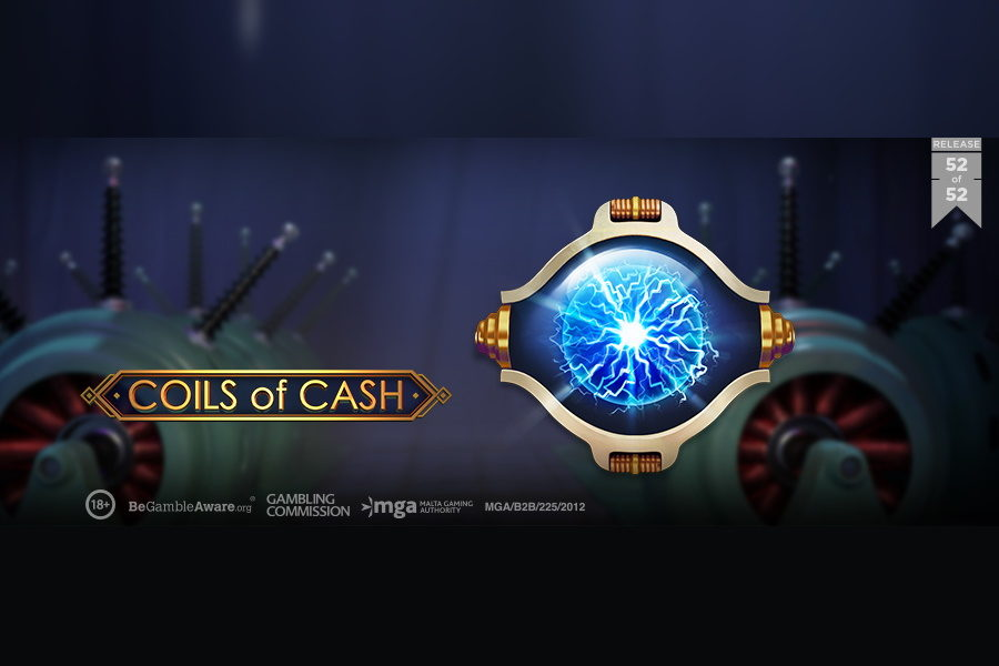 Coils of Cash is the first release of Play'n GO in 2021.