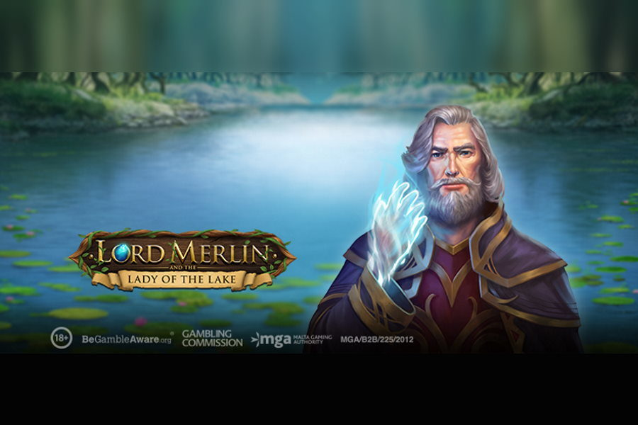 Lord Merlin & The Lady of The Lake is the latest title from Play'n GO.