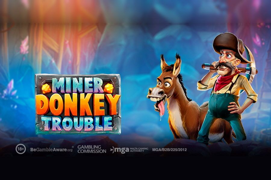 Miner Donkey Trouble is the latest release by Play'n GO.
