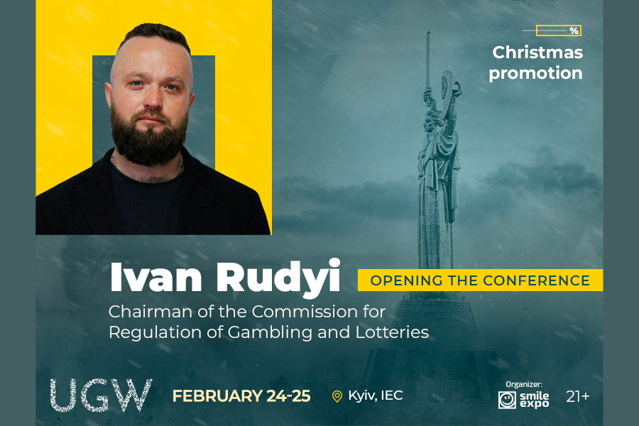 Meet Head of the Commission for Regulation of Gambling and Lotteries Ivan Rudyi at the UGW 2021.