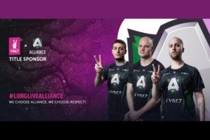 VBET named titled sponsors of eSports stars Alliance
