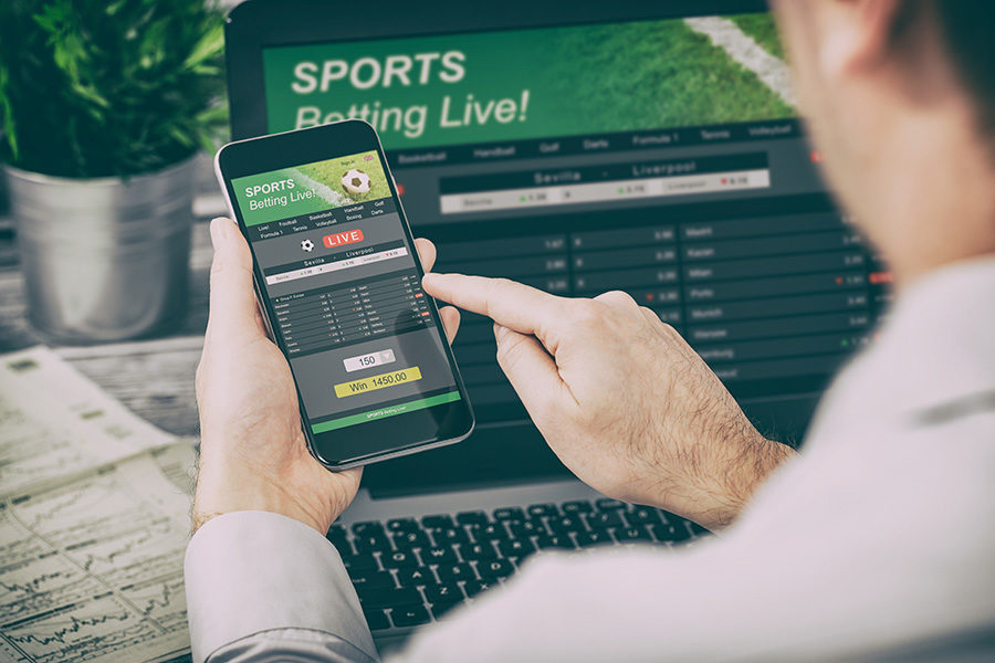 he sports betting app saw a record 23,000 customers place bets.