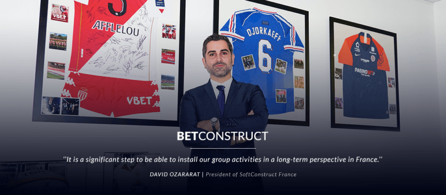 BetConstruct's parent company strengthens its France-based branch and appoints a President for local affairs.