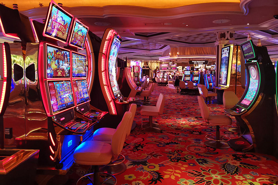 Casinos were closed for most of December.