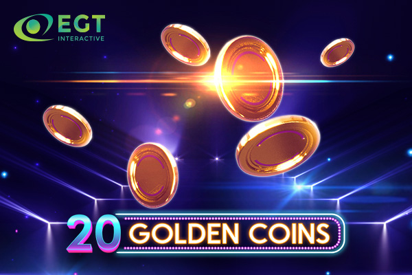 EGT Interactive releases its newest video slot: 20 Golden Coins