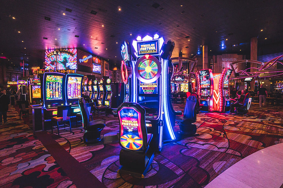 Nevada casinos can now operate at 35 per cent capacity.