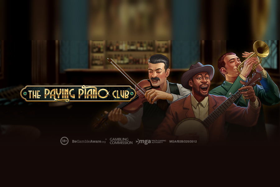 Play'n GO's Paying Piano Club is already available across multiple markets.