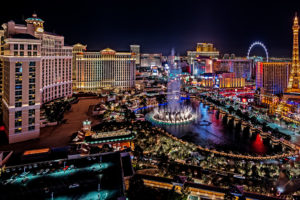 Many casino workers in Las Vegas lost their jobs during the pandemic.
