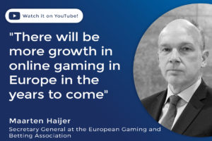 """There will be more growth in online gaming in Europe in the years to come"""