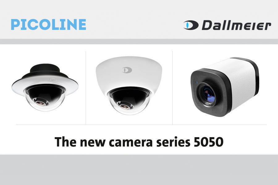 Dallmeier's single sensor cameras are fully integrated with the EIZO IP decoding solutions.