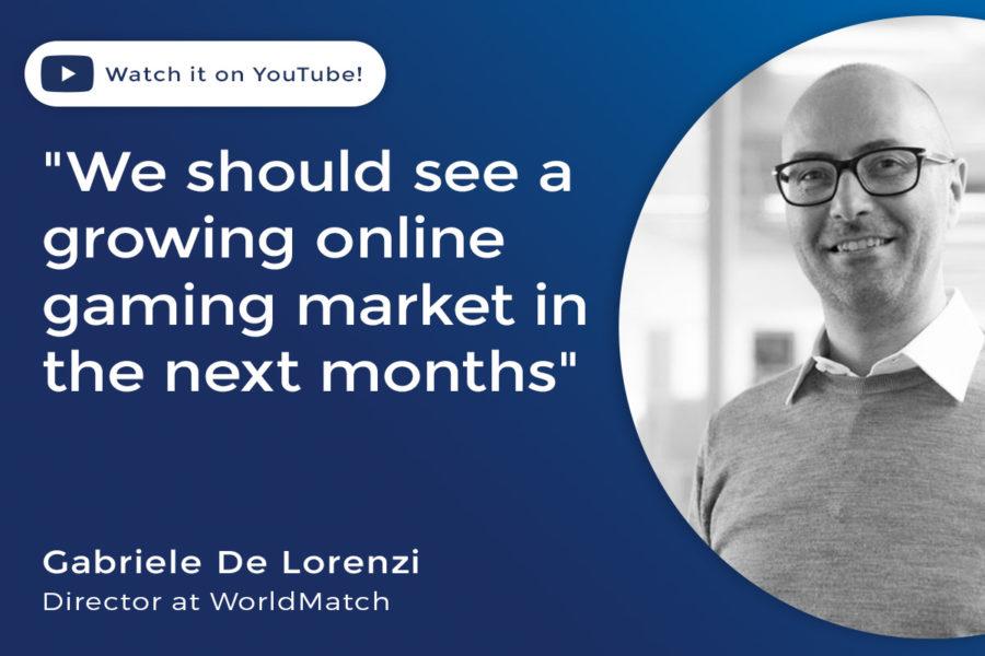 Gabriele De Lorenzi, director at WorldMatch, speaks to Focus Gaming News.