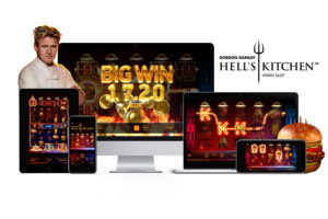 NetEnt presents Gordon Ramsay Hell's Kitchen video slot