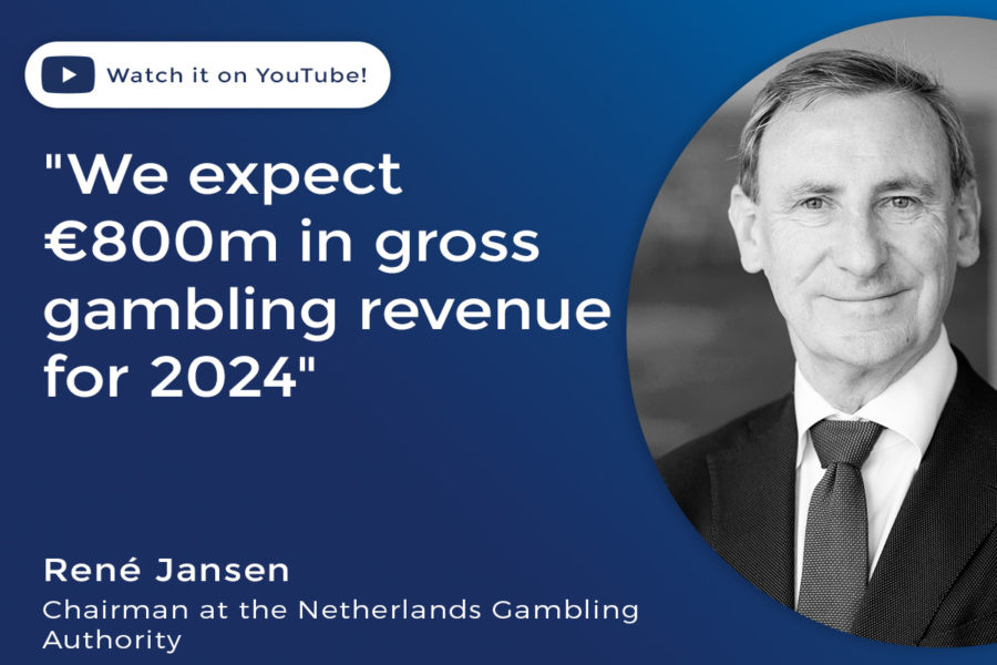 René Jansen, chairman of the Netherlands Gambling Authority.