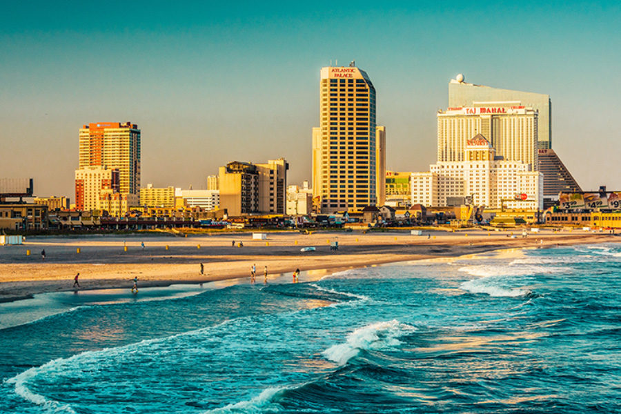 """Atlantic City is considered the """"Gambling Capital"""" of the East Coast."""