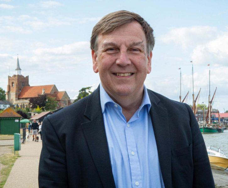 John Whittingdale is the UK government's minister for media and data.