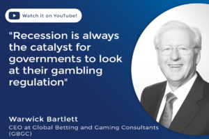 Warwick Bartlett, chief executive at Global Betting and Gaming Consultants.