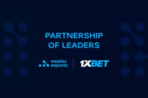 WePlay Esports and 1xBet announce a part WePlay Esports media nership for 2021.