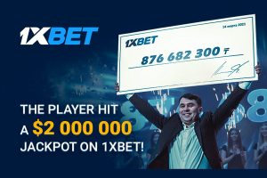 1xBet player wins over US$2 million on a 44-event accumulator