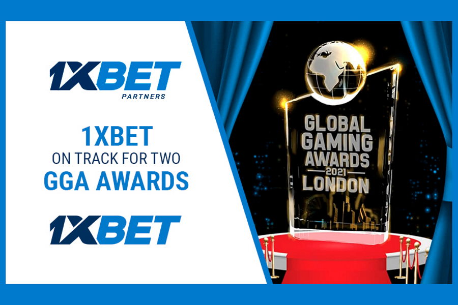 1xBet could win two top awards at the GGA 2021.