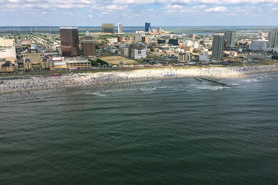 Casinos in Atlantic City saw profits plunge last year.