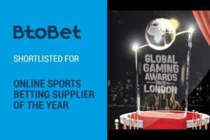 BtoBet shortlisted at GGA London