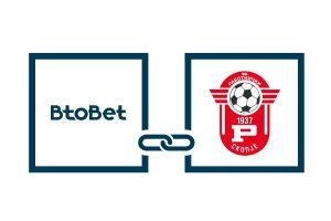 BtoBet to sponsor top tier Macedonian football club