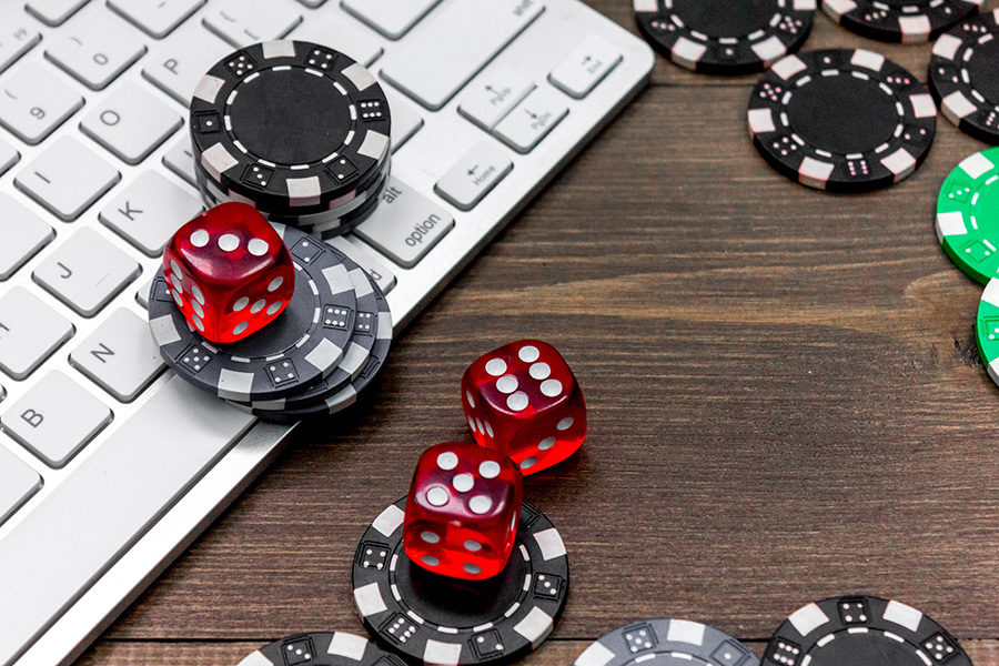 The Alberta gaming regulator is accused of illegally operating an online casino.