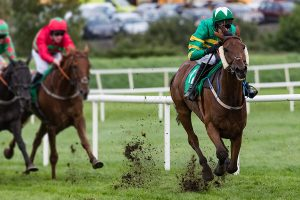 The Grand National race attracted record numbers of online bets.