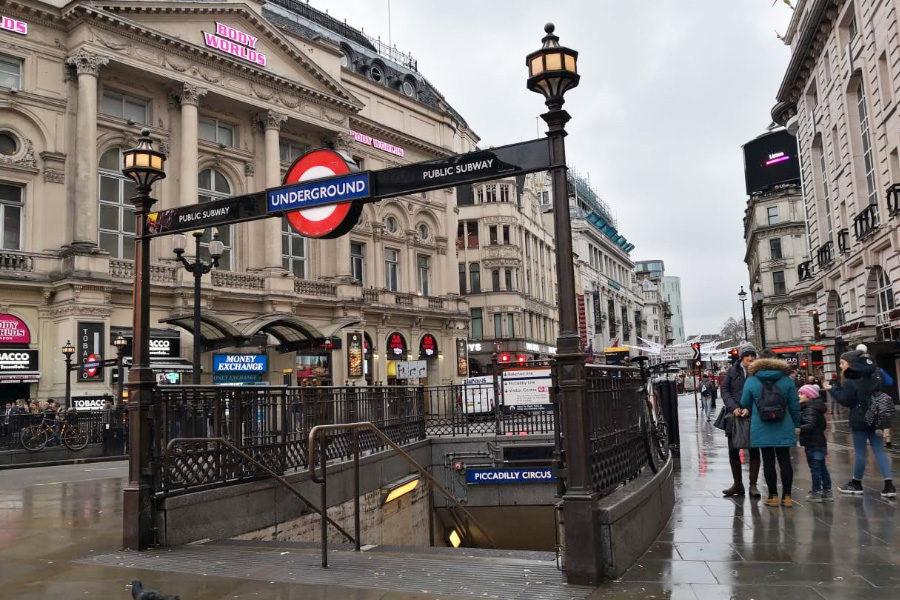 Sadiq Khan plans to ban gambling ads on the Tube.