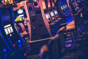 Betting shops could reopen this month.