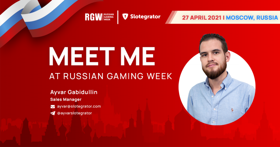 The Russian Gaming Week is the largest event in the CIS.