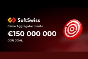 SoftSwiss Game Aggregator tops €150 million GGR milestone