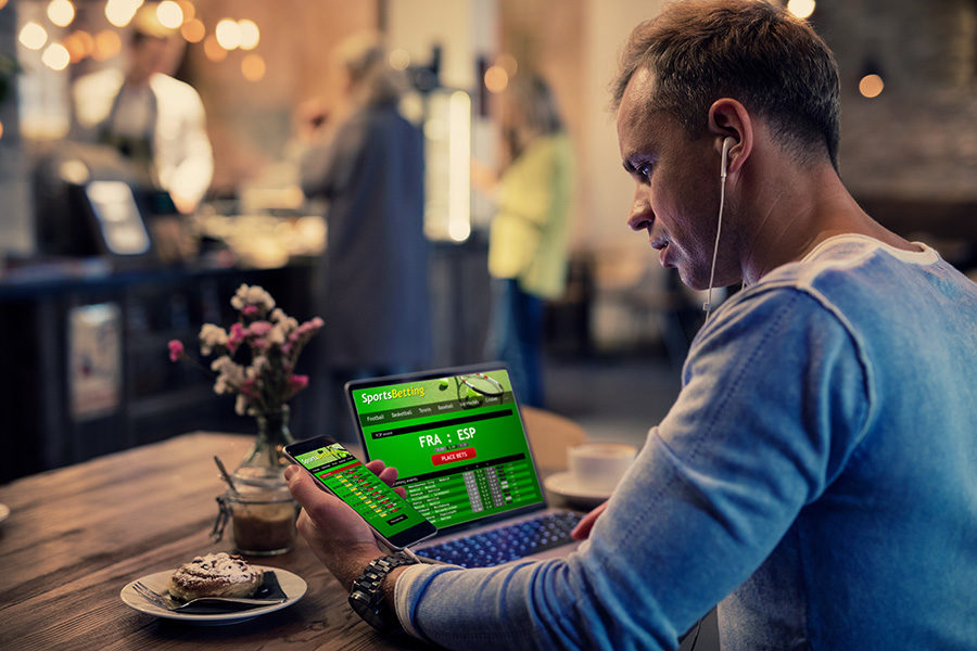 The betting technology company saw revenue fall to  £45.7m.