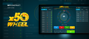 BetConstruct Launches New Game x50Wheel
