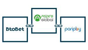 Aspire Global integrates Pariplay's content on Btobet's platform