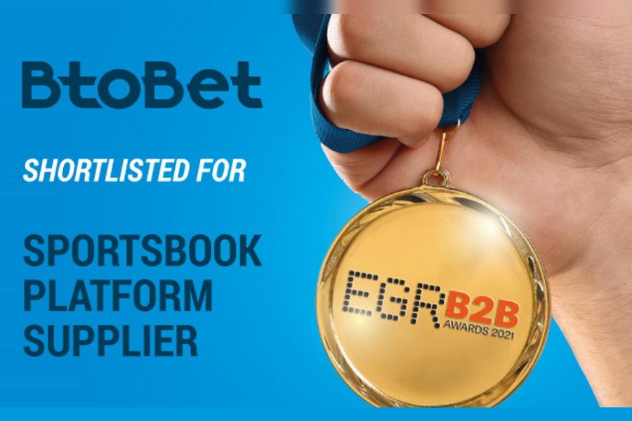 BtoBet's Neuron 3 sportsbook platform has been nominated for the EGR B2B Awards.