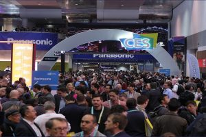 The CES trade show will be back in January 2022.