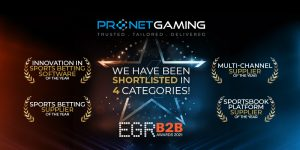 Pronet Gaming Shortlisted at EGR B2B Awards 2021!