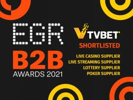 TVBET shortlisted for EGR B2B Awards 2021
