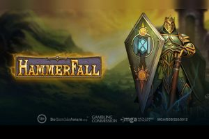 Turn up the volume with the new Play'n GO HammerFall slot