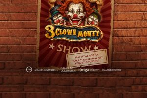 Play'nGo relaunches 3-Clown Monty