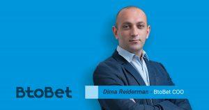 BtoBet's COO Dima Reiderman highlights importance of ML technology in sports betting