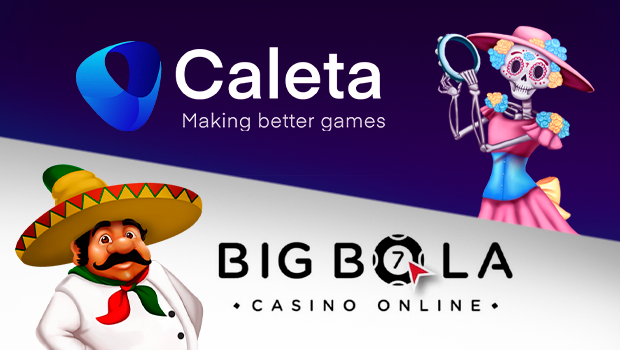 Caleta games now live at Big Bola online