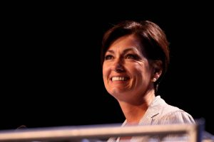 Gov. Kim Reynolds cleared Iowa casinos to simulcast races from other regions.
