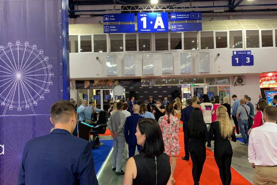 Merkur stars at Kiev Live expo