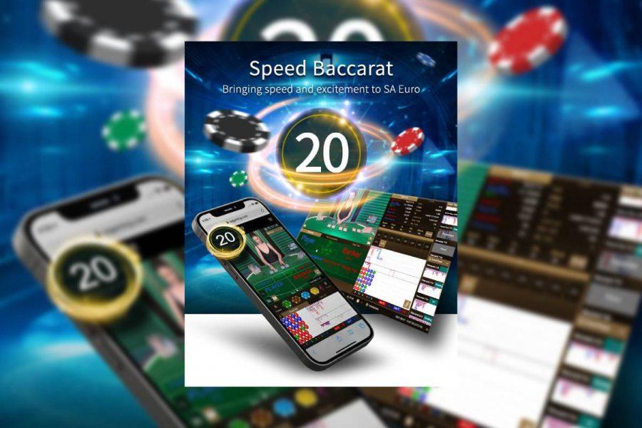 SA Euro presents Speed Baccarat