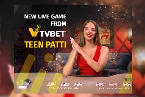TVBET launches the new live game Teen Patti