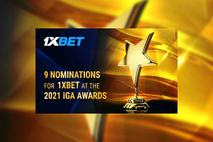 1xBet is being nominated in 9 separate categories at IGA this year.